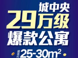 龙湖新壹城热销 30万起抢收官公寓最后席位