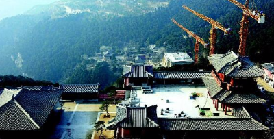 太山龙泉寺文物修复有序进行 汉唐文化将重现