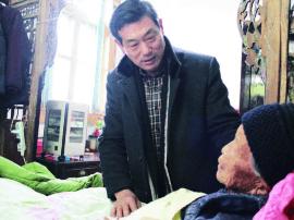 """朱惠泉夫妇26年如一日 """"寻""""个""""上人""""尽孝心"""