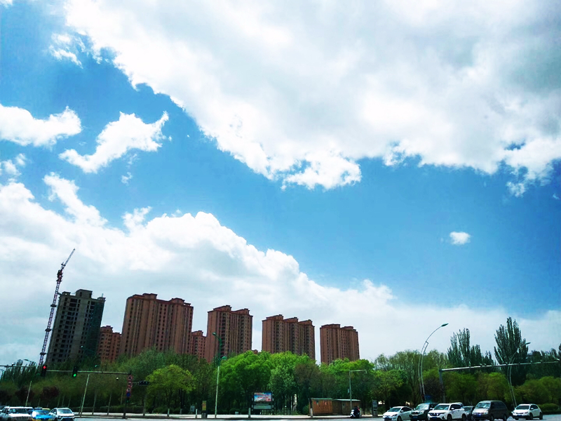 银川开启蓝天模式
