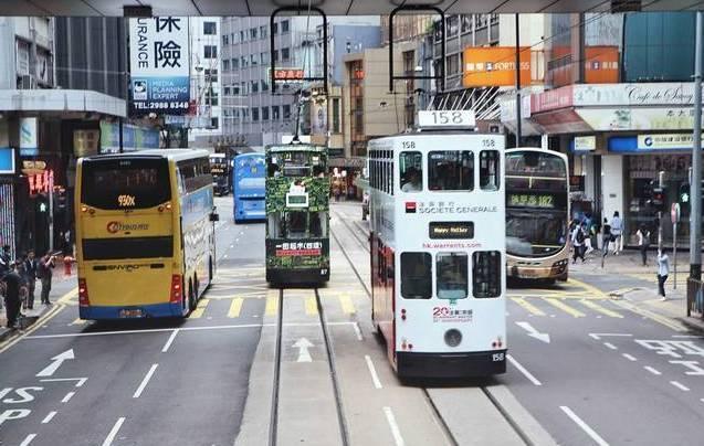 香港复古叮叮车