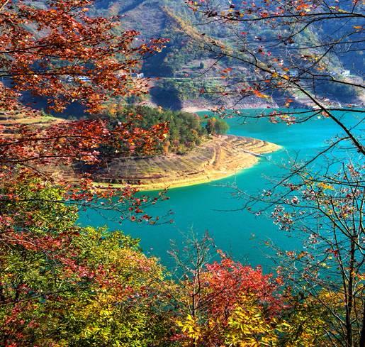 巴山湖——一个真实美丽的梦!惊艳了整个四季!如此美景,值得一看