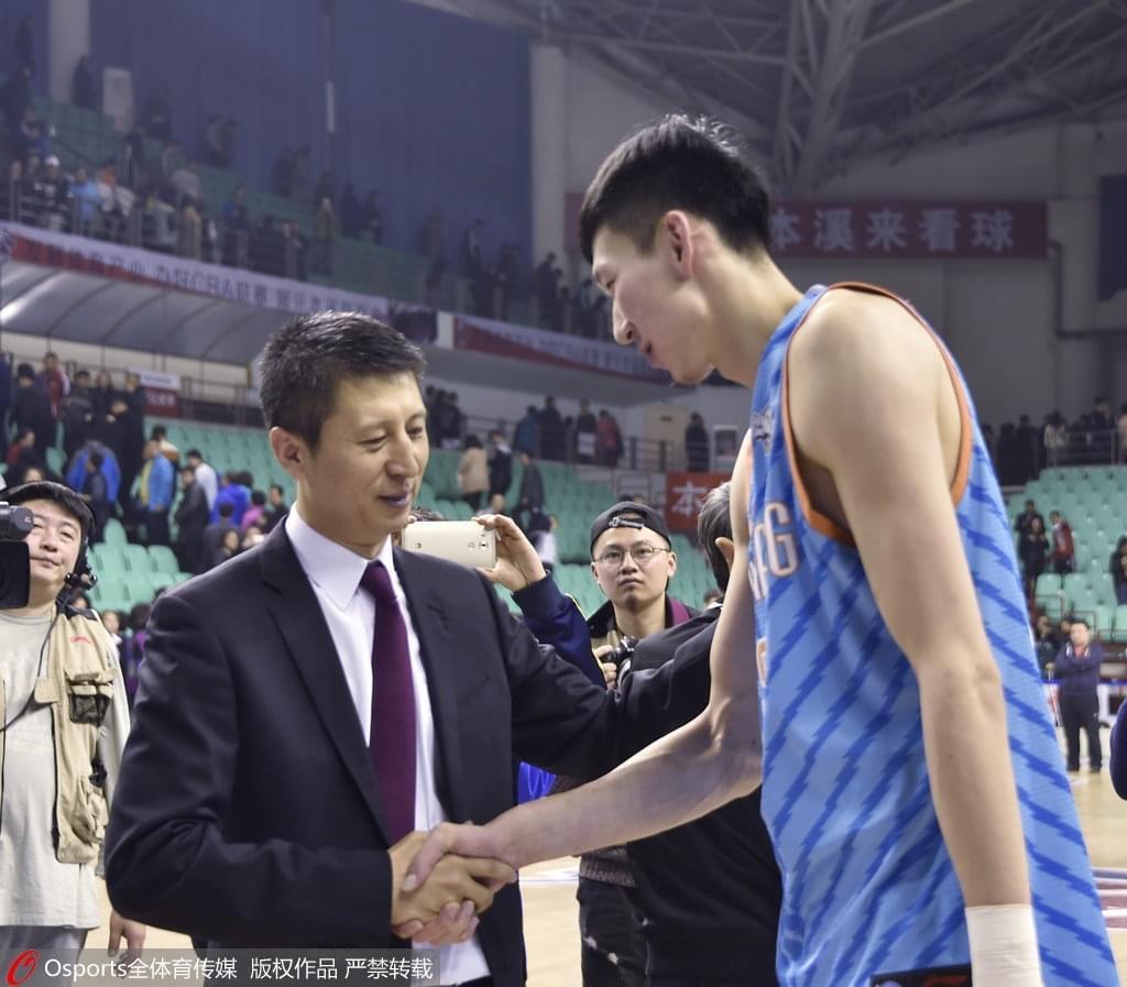 郭士强:周琦伤愈是好消息 他对辽宁全运男篮很重要