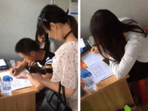 惠州交警花式执法,若违规就请写下爱的保证书