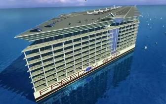 人类即将迎来真正的海上漂浮城市