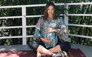 米兰达可儿晒孕期美照