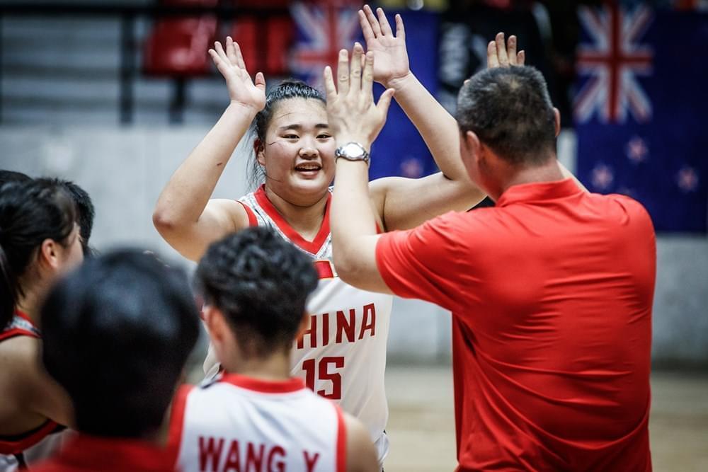女篮亚少赛-中国17分大胜新西兰 获赛事第三名