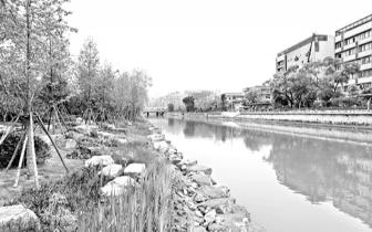 晋安河最美观光带有了示范段 下周将开放