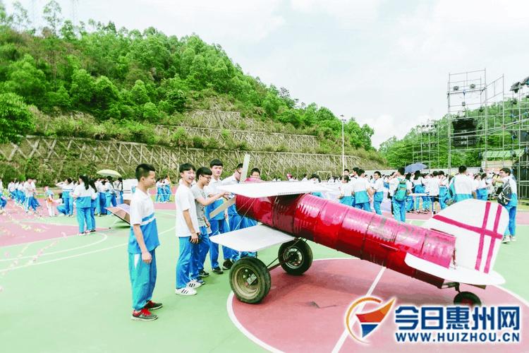 不得了!惠州教职工健身操惊艳四座 学生则狂拼创意
