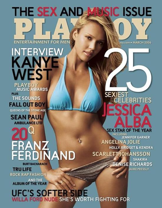 """《花花公子》等杂志,很轻易地就可以证明不是""""毫无社会价值"""",从而躲避淫秽的鉴定 /Playboy Cover"""