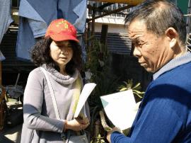 邯郸:轻伤不下火线的社区书记仇丽红