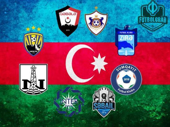 阿塞拜疆足球超级联赛一共8支球队