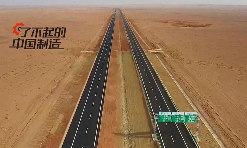 没水没电没信号,世界最长沙漠高速这样建成