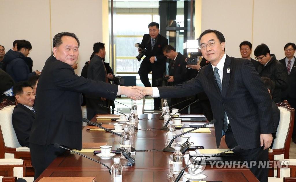定了!朝韩17日将再度会谈 专门协商朝鲜参奥事宜