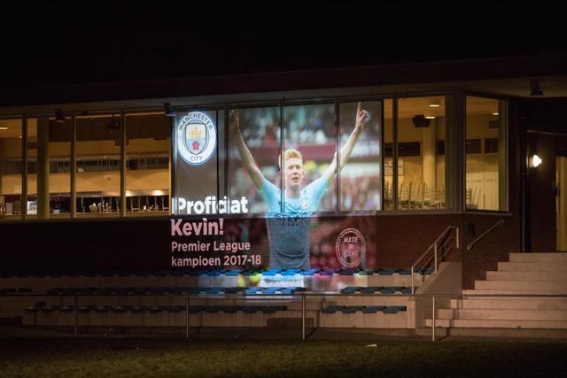 """德布劳内:位于比利时根特的足球启蒙学校,现在这里每年举行""""德布劳内杯赛""""。"""
