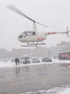 西安小型飞机除雪 避免压塌大棚