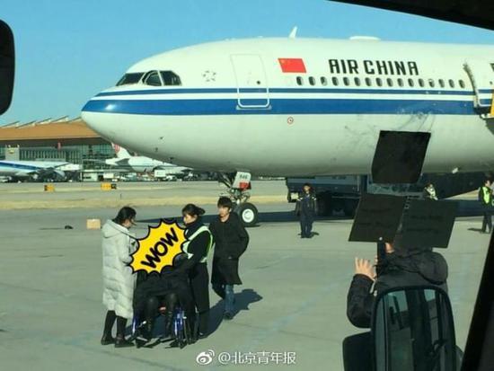 今天上午,北京飞往成都的一架飞机在起飞20分钟后返航.