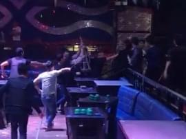 尬舞与保安产生冲突 阳西10人打砸酒吧