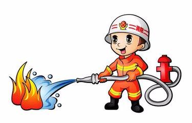 留守儿童走进武穴市消防中队学习了消防小技能