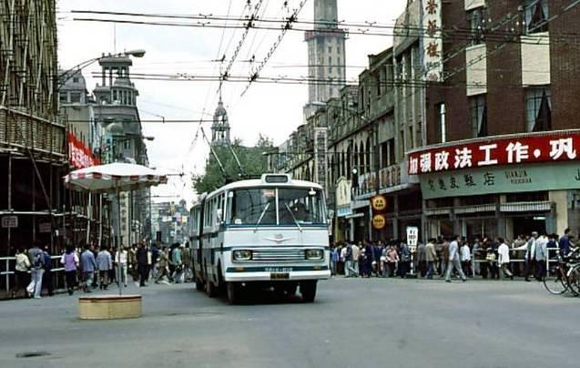 35年前的上海
