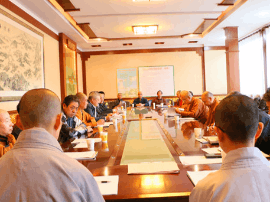 五台山召开学习贯彻新修订的《宗教事务条例》座谈会