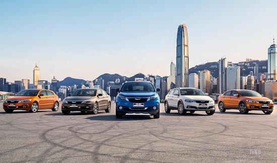车型数量精简 新款观致3家族全系上市