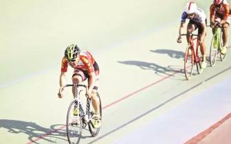 河北省第十五届运动会场地自行车预赛落幕