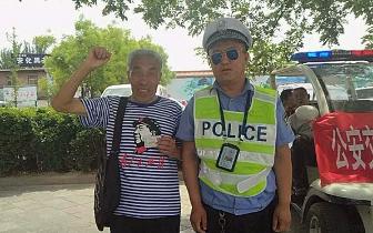 外地游客丢失身份证 临汾交警帮忙找回