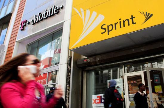 T-Mobile和Sprint称两家合并有助美国在5G击败中国(组图