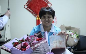 邯郸志愿者乔红成功捐献造血干细胞!