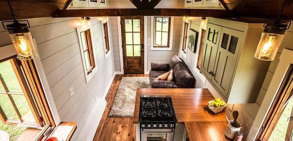 美国30平米小木屋卖60万元 你觉得贵吗