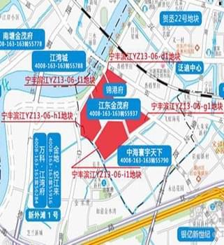探宁丰滨江地块 11万平+8600元/㎡起