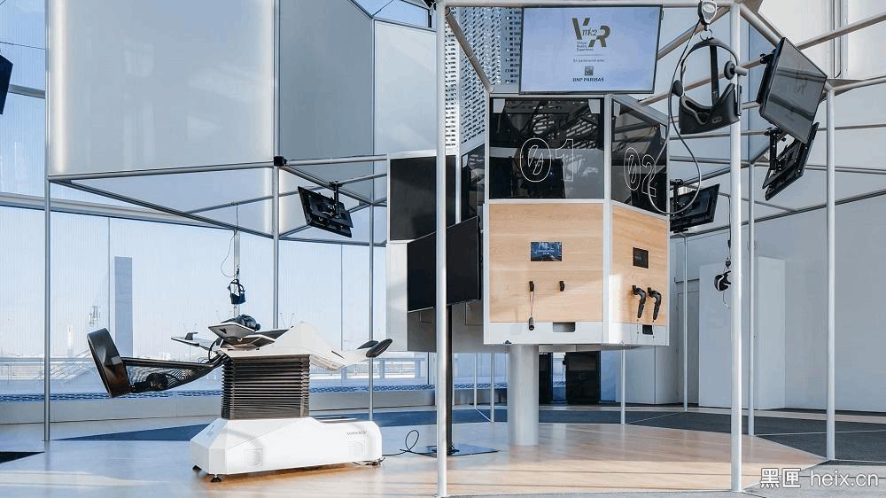 最高端VR体验馆在巴黎开业,20分钟12欧元