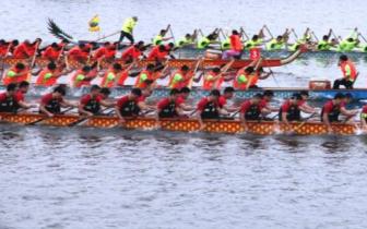一起来嗨 2018咸宁龙舟公开赛6月16日在淦河开赛