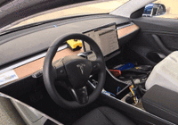 灰色版本特斯拉Model 3候选测试车现身加州街头