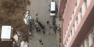 吉林市一男子高层坠下 当场身亡
