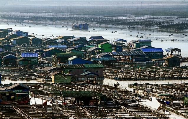 霞浦下青山:漂浮在海面上的村庄