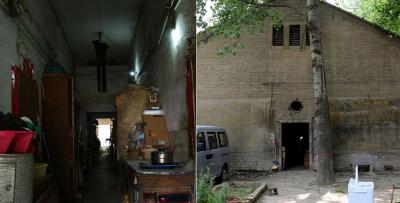 纺织城老食堂被改造成筒子楼 住户盼改变