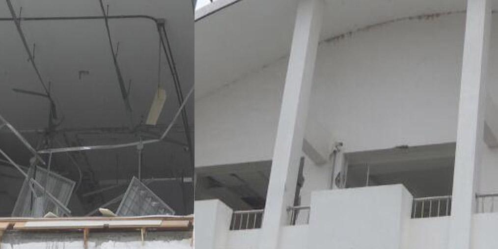 银行发生爆炸 疑似冰箱制冷剂泄露