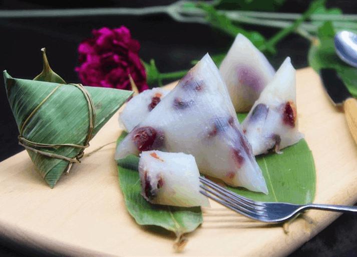 端午节营养健康粽子,蔓越莓西米粽