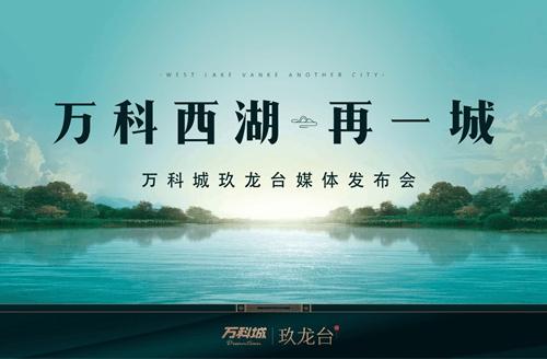 万科城:玖龙台媒体发布会圆满落幕!