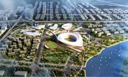 一座城市只有一个奥体中心 只有一个奥体板块