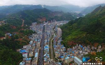 广西西南边陲小镇:那坡县航拍景色全览