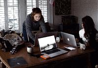 越来越多美国人选择在家工作 节能减排的效果太
