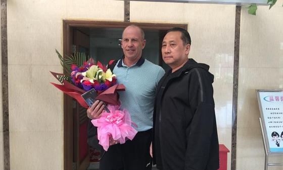 戈尔担任新疆队主教练