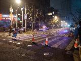 上海黄浦警方使用新装备,助力跨年庆安保任务