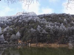 美景:德化九仙山迎来今冬首场雾凇