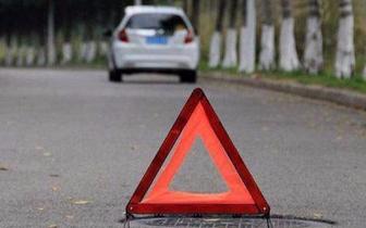 福州一小车因故障高速停车 未设警示标志司机被罚