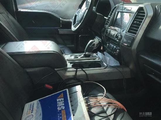 斯文许多 福特F-150 LOBO platinum实车