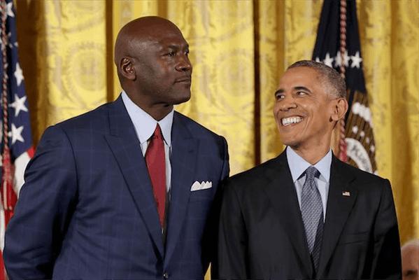 歐巴馬:比起詹姆斯我更支持喬丹,他才是史上最偉大!